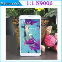 Wholesale Perfect quot N9006 Note phone Note III Android MTK6572W Dual Core Smart Phone GB GB G Phone Single SIM