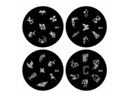 Wholesale 2013 new fashion styles nail art polish metal plate new stamping plates Template