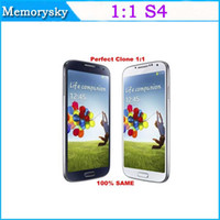 Wholesale 5 quot Cell phone MTK6577 dual core i9500 S SIV phone Android Jelly Bean GPS G M G single micro SIM card