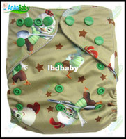 Wholesale Hot Sale Jctrade AnAnbaby Cartoon Baby Cloth Diapers Reusable With Microfiber Inserts Cloth Diapers Manufacturers
