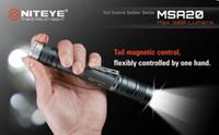 Ultrafire 160lm LED Flashlight 1PC Niteye MSA20 Cree XM-L U2 2xAA 1.5v SS Bezel Magnetic Control Wateprofo IPX-8 Standard Camping Hiking LED Flashlight Torch