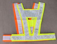 Wholesale Reflective Vest Safety Vest Sanitation vest High Visibility