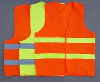 Wholesale overalls High Visibility Sanitation vest Reflective Vest Safety Vest