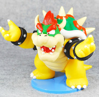 Wholesale Super Mario D LAND Collection Figure Bowser Koopa PVC Figure cm High