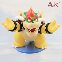 Wholesale Super Mario D LAND Collection Figure Bowser Koopa PVC Figure cm High Quality