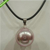 Wholesale Beautiful MM Blending sea shell pearl pendant