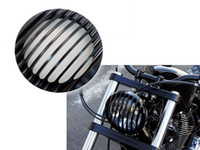 Wholesale 2014New Arrival Headlight Grill Aluminum For Sportster Year XL883 XL1200