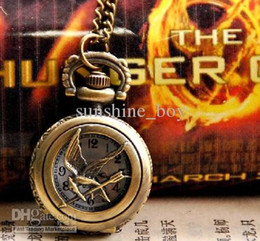 Retail Hunger game antique watches pocket womens pocket watches pocket watch pendants Fashion pendant necklace