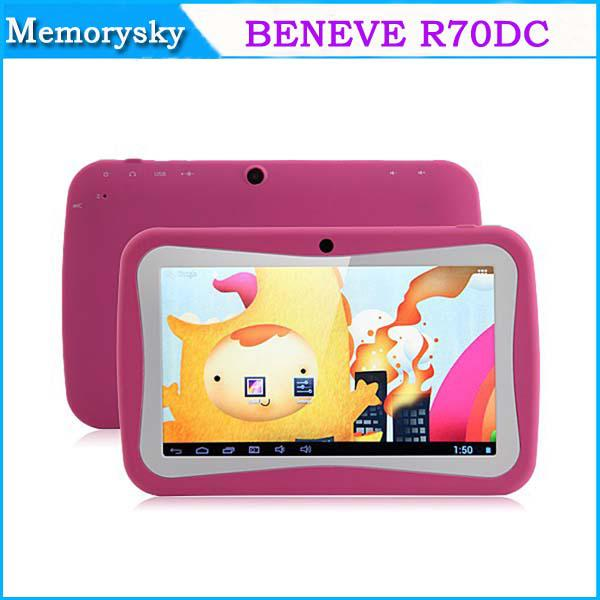 Hot Sale Android 4.2 BENEVE R70DC Tablette pour enfant Tablette Android 7 pouces