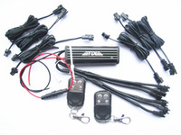 Wholesale Flash Strobe LED Light Lamp Remote Control Controller M plug Ch Out Put Remote Controls Extension Wire for Motorcycle Lighting