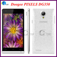 Wholesale android Smart Phones Doogee PIXELS DG350 Inch MTK6582 Quad Core GHz CPU IPS HD Screen GB RAM GB ROM MP Android unlock