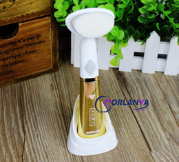 Wholesale Facial Cleaning Brush Skin Care Pobling Brand for Dead Skin Removal Anti Pimple Cutin Reduction Gold Color MOQ1PC Portable Cleansing Brush