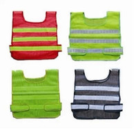 Wholesale top selling uniform sanitation vest road warning vest Reflective vest reflective