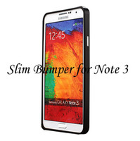 For Samsung   Slim Metal Bumper Case for Samsung GALAXY Note 3 Note3 N9000 Screwless Aluminum Thin Frame Cover Luxury Border Retail Package Free DHL