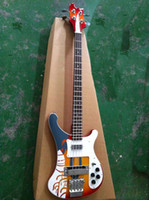 guitar parts - New brand Ricken string electric bass guitar with parts from korea