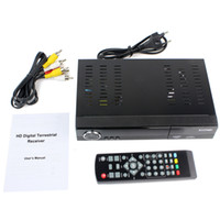 Receivers DMB-TH  Audio MPEG4 USB H.264 HDMI HD1080P PVR Remote Media Player Digital Terrestrial Receiver Video Broadcasting DVB Tuner Set-top Box D2306A
