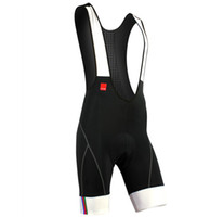 Wholesale SANTIC Men s Cycling Vest Shorts Bicycle Bike Bib Shorts D Coolmax Padded Braces Pants S XL C05031