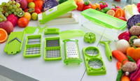 Wholesale Nicer Dicer Plus Fruit Vegetable Tools Multi Functional Dicer Food Slicer Cutter Chopper Peelers Salad Machine DHL Free