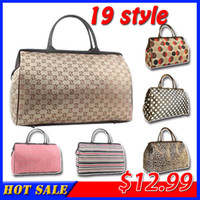 Wholesale 2014 large capacity high quality women travel bag luggage bags one shoulder cross body men travel luggage bag