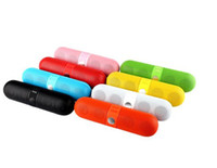 Portable Pill Speaker Wireless Bluetooth speaker with FM rad...
