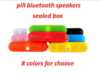 Wireless Bluetooth Portable Stereo Pill Speaker for Apple La...