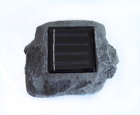 IP44 Solar  Solar Lawn Lamps LED Outdoor Solar Stone Lamp Lawn Lamps LED Solar Stone Lamp Lamps Garden Lights Free Shipping