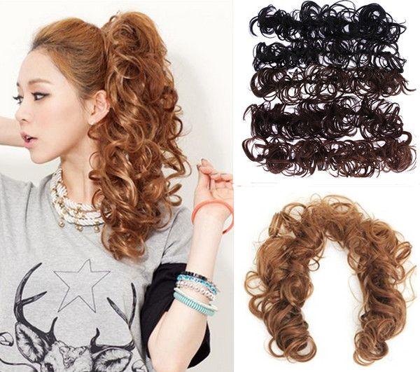 Hair Accessories Hair Ornaments Clip In Hair Bangs Color Black Blonde