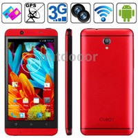 Android 1G 1280x720 CUBOT One Red GPS+AGPS Android 4.2.1 MTK6589T 1.5GHz Quad Core RAM 1GB ROM 8GB 4.7 inch HD Smart Phone Sweden Post Free Shipping