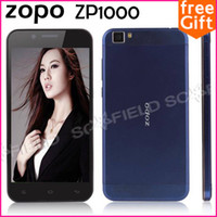 "Zopo 5.0 Android ZOPO ZP1000 Ultrathin 5.0"" IPS HD MTK6592 Octa Core Android Cell Phone 1GB RAM 16GB ROM 14.0MP 3G GPS OTG Android 4.2"