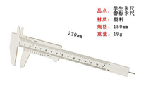 Wholesale white special Plastic vernier caliper Non Magnetic quot mm