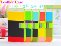 For Samsung Leather Yes Case Cover Hybrid Colorful Wallet Leather Case For Samsung Galaxy S3 i9300 S4 I9500 S5 I9600 S4 mini i9190 S3 MINI I8190 A125
