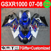 7gifts+ Customized For SUZUKI GSXR1000 K7 07- 08 GSXR 1000 Fac...
