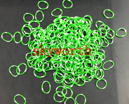 Wholesale New camouflage Loom Kit DIY Wrist Bands Bracelet Refill Bands for kids Gift bands C or S clips