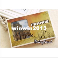 Birthday Cards Sample Retail s1508 Free Shipping Daisyland France landscape boxed postcard high quality 30pcs set gift Greeting Cards birthday card