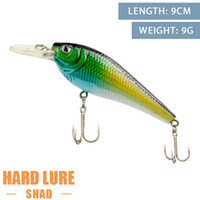Wholesale hot sale fishing hard lures with hooks fishing baits minnow cm g fishing tackle tools gear MH05