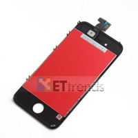 Wholesale Black White LCD Assembly Complete LCD Display Digitizer Touch Screen For iphone G CDMA S Original LCD A Quality AA0005