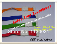 Wholesale High grade medical elastic latex tourniquet Tape length cm adult amp baby design many colors DHL