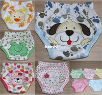 baby boxer dogs - 100 cotton unisex training pants baby animals designs underwear toddler summer panties lion cat ladybug duck dog age M