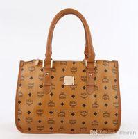 Wholesale Korea MCM hot new fashion women handbags Shoulder Hasp Messenger woman Bags Bucket Bag Black white brown