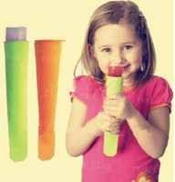 Cone Holders Silicone Rubber ECO Friendly free shipping HOT silicone ice pop maker Push Up Ice Cream Jelly Lolly Pop For Popsicle Silicone ice pop mold mould LYY487