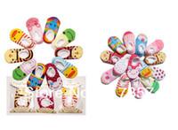 Wholesale Baby Boat Socks Children s Shoes Antiskid Non slip Bottom Cartoon CM pairs
