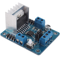 Electric Toy China (Mainland)  L298N Dual Stepper Motor Driver Controller Board Module 5V For Robot Smart Car #11129