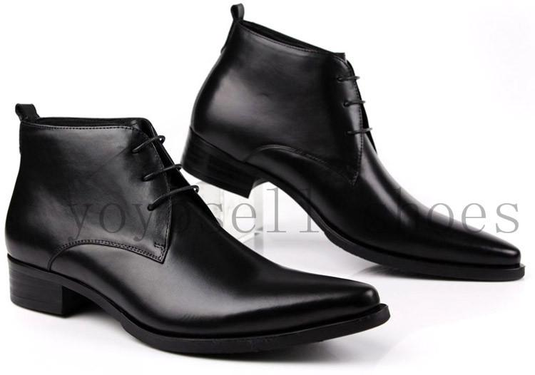 Where to Buy Pointed Ankle Boots Men Online? Where Can I Buy