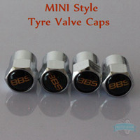 Wholesale MINI Style BBS Sticker Wheel Tire Valve Caps BBS Emblem Tyre Dust Cap Can Mix Order