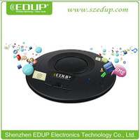 Wholesale UFO EDUP EP B3509 lastest hand free v3 m A2DP car wireless bluetooth stereo music or audio receiver for conference system
