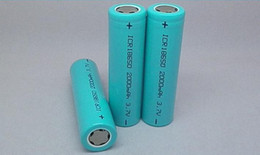 Wholesale - 18650 v3 2200mah 3.7v rechargeable battery cell