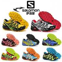 Wholesale New Arrival Zapatillas Salomon Speedcross Walking Ourdoor Sport Athletic Shoes Running Shoes Men and Women