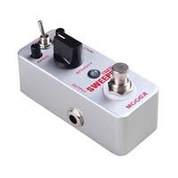 bass envelope filter - Mooer Sweeper Bass Filter Pedal Dynamic envelope filter pedal for both bass and guitar Full metal shell True bypass MU0347