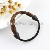 Wholesale Latest fashion design hand made weaved plaits hair accessories