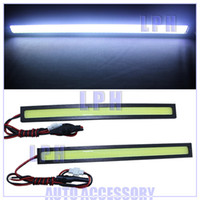 12V 2012 DRL-SF2 Ultra-thin 9W COB Chip With IC Drive New update 42 LED Daytime Running Light 100% Waterproof LED DRL Fog car lights LP13005